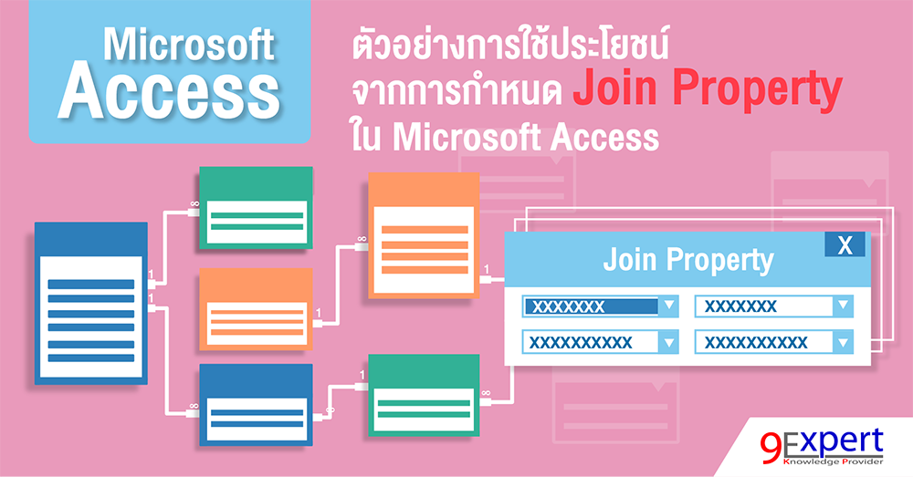 Join Property ใน Microsoft Access