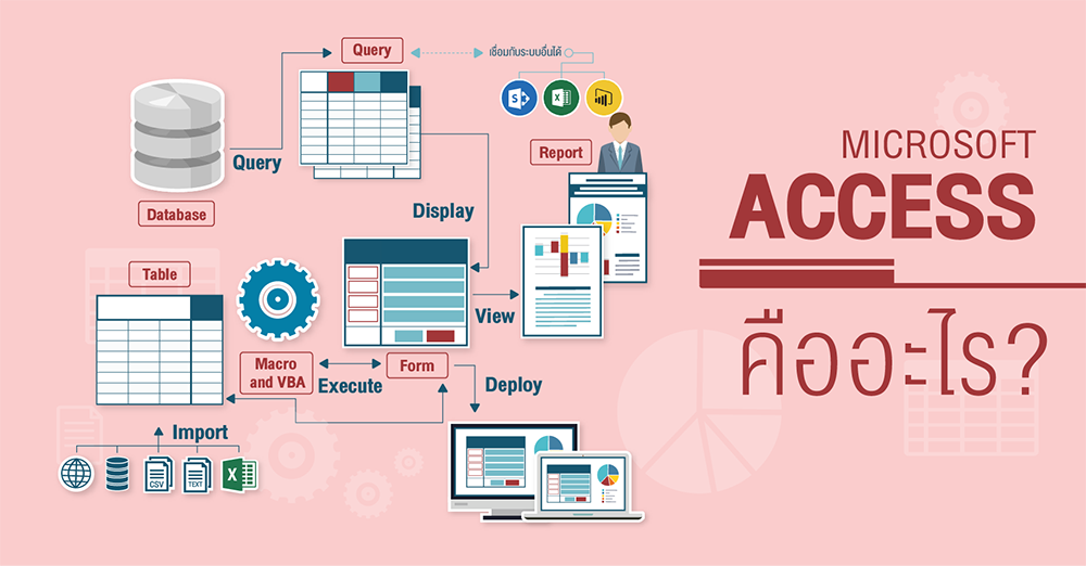 Microsoft Access คืออะไร