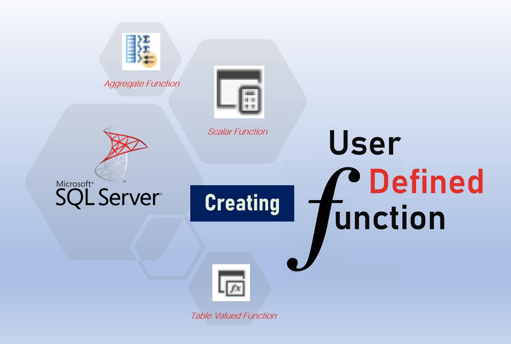 ภาพหน้าปกการสร้าง User Defined Function ใน Microsoft SQL Server