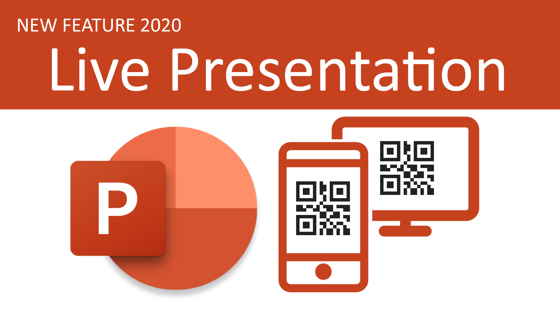 รูปภาพปกบทความLive Presentation ฟีเจอร์ใหม่ PowerPoint Online สามารถแชร์ ส่งต่อสไลด์แบบสดๆ ผ่าน QR-Code ได้แล้ว