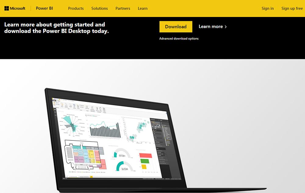 Download Power BI Desktop ได้ที่เว็บไซต์