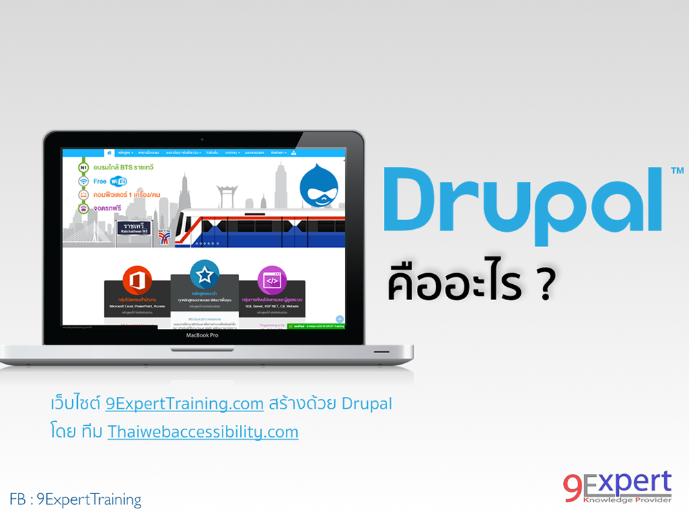 Drupal คืออะไร