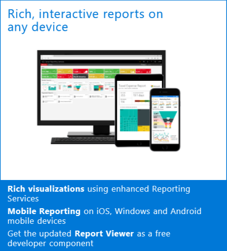 Microsoft SQL Server  Mobile Reporting
