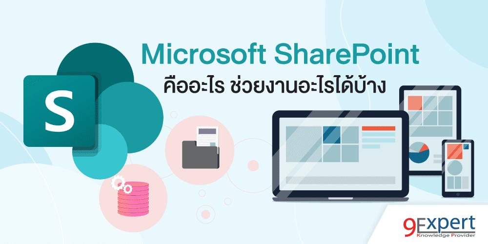 Microsoft SharePoint คืออะไร ช่วยงานอะไรได้บ้าง