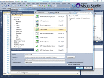 Programming in C# with Visual Studio