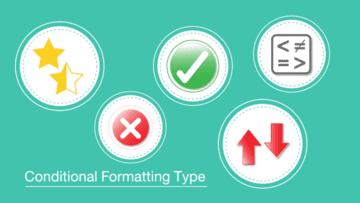 การจัดรูปแบบขั้นสูงด้วย Conditional Formatting