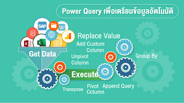 Power Query เพื่อเตรียมข้อมูลอัตโนมัติ