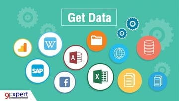 สามารถนำเอาข้อมูลจากหลากหลายแหล่งข้อมูล ไม่ว่าจะเป็น File, Database, Web