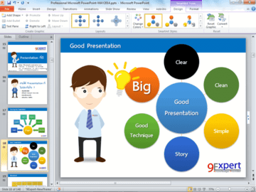 PowerPoint Good Presentation Technique