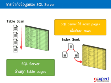 เข้าใจการเข้าถึงข้อมูลของ SQL Server
