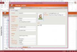 Microsoft Access User Interface