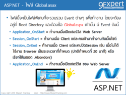 ASP.NET ตอน ไฟล์ Global.asax
