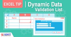 Dynamic Data Validation List