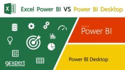 เปรียบเทียบ Microsoft Excel Power BI และ Microsoft Power BI Desktop
