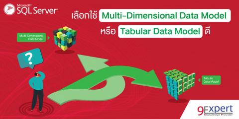 ภาพหน้าปก เลือกใช้ Multi-Dimensional Data Model หรือ Tabular Data Model ดี ?