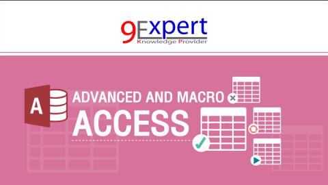 หลักสูตร Advanced and Macro Microsoft Access 2016