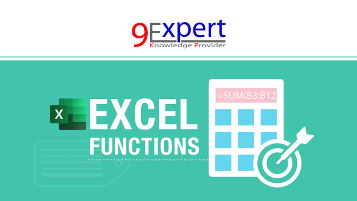 หลักสูตร Excel Powerful Functions