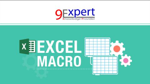 หลักสูตร Macro and VBA Microsoft Excel 2016