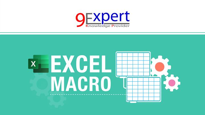 หลักสูตร Macro and VBA Microsoft Excel