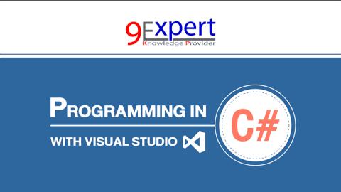หลักสูตร Programming in C# with Visual Studio 2015