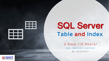 SQL Server Table and Index Course