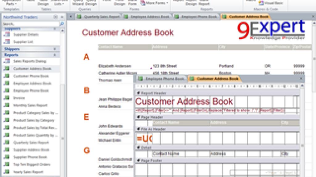 หลักสูตร Microsoft Access O365 Advanced and Macro ครอบคลุม