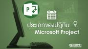 ประเภทปฏิทินใน Microsoft Project