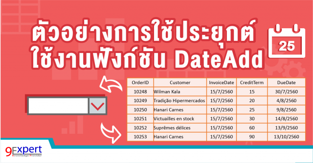 DateAdd by 9experttraining