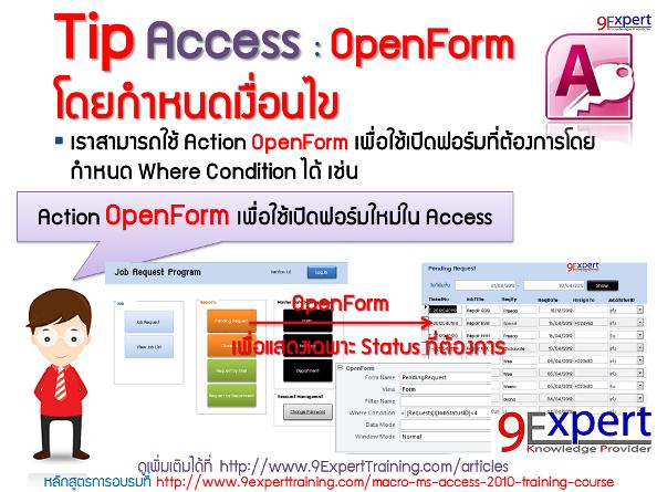 Microsoft Access OpenForm