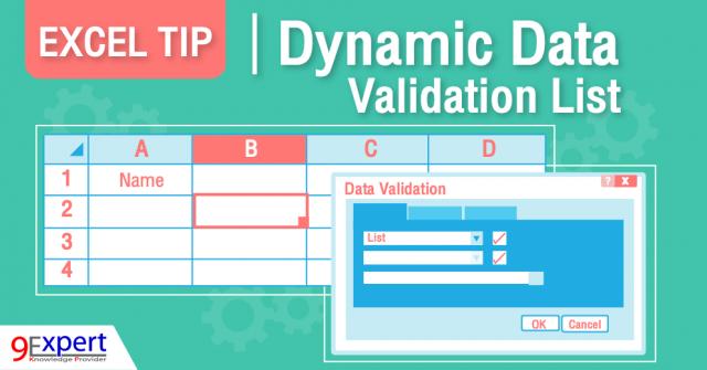 Dynamic Data Validation List