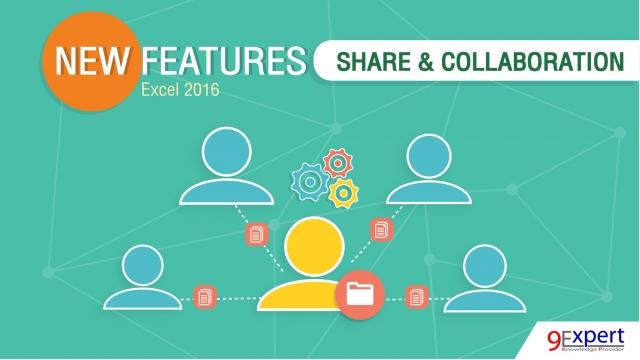 Excel สามารถ Share & Collaboration ได้